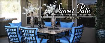 Resort Style Patio Furniture Sunset Patio Design Process Arizona Patio Furniture Scottsdale
