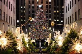 the rockefeller center christmas tree cbs new york