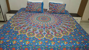 colourful bohemian hippie bedding bed sheets and pillows with thumbnail  from fairdecorcom