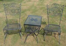 Vintage Woodard Patio Furniture by Woodard Patio U0026 Garden Furniture Sets Ebay