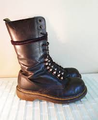 womens boots size 14 doc martin boot steel toe 14 black leather boots spikes in
