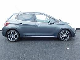 cheap used peugeot cheap used 2014 peugeot 208 in grey for sale in newbridge only