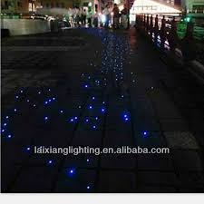 electrically neutral swimming pool fiber optic lighting giving an