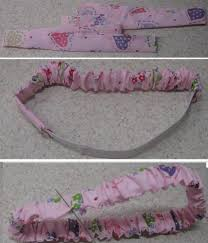 fabric headband learn to sew a scrunchie headband