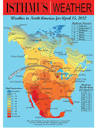 Map North America Weather Map Of North America Royalty Free Stock Image Image Big