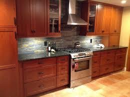 kitchen backsplash cherry cabinets skillful kitchen backsplash cherry cabinets black counter for