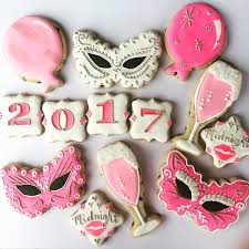 New Year S Eve Cookies Decorating by 150 Best New Year U0027s Sugar Cookies Images On Pinterest Sugar