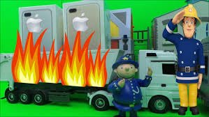 firefighter fireman sam apple iphone 7 delivery