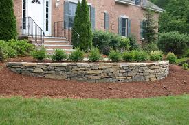 Retaining Wall Ideas For Gardens Lovable Retaining Wall Landscaping Ideas Landscape Retaining Wall