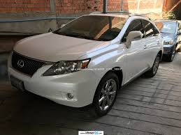 white lexus 2010 lexus rx 350 2010 pearl white pong 1 new arrival in phnom penh on