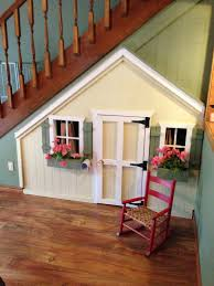 cute under the stairs doll house how to make the most of a small