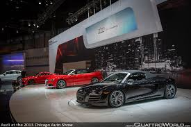 Audi R8 Diesel - audi at the 2013 chicago auto show quattroworld