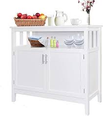 white storage cabinet for kitchen buffet cabinet kitchen sideboard storage cabinet free standing cupboard adjustable shelf white