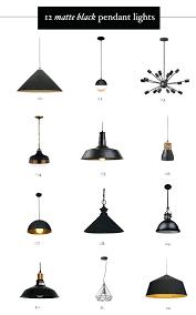 Black Pendant Ceiling Light New Black Kitchen Pendant Lights Thehappyhuntleys