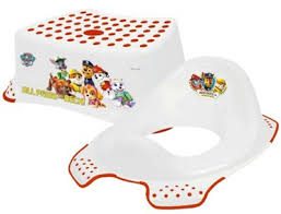 buy paw patrol step stool u0026 toilet training seat combo