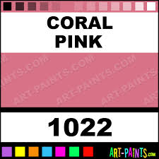 coral pink marker fabric textile paints 1022 coral pink paint