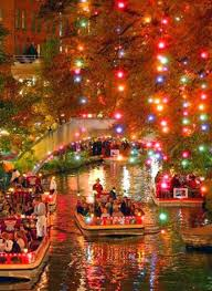 lights on the river walk