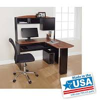 mainstays l shaped desk with hutch cheap l shaped desk with hutch find l shaped desk with hutch deals
