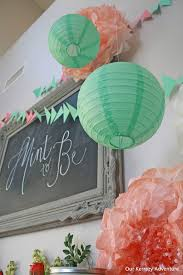coral baby shower mint to be baby shower ideas our kerrazy adventure