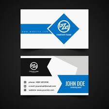 modern corporate business card template free vectors ui download