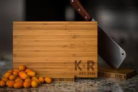 cutting board wedding gift personalized cutting board wedding anniversary family name
