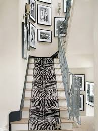 Modern Banister Interior Elegant Black And White Hallways That Wow Traditional