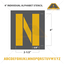 alphabet letters u0026 number stencils individuals for sale