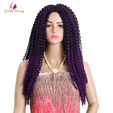 18 inch hair extensions golden beauty 18inch synthetic crochet braids jamaican bouncy