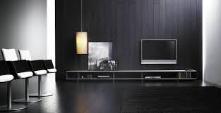 contemporary tv wall unit aluminum modular by lievore
