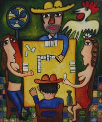 juego de domino cuban art