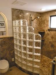 glass block bathroom ideas glass block walk in shower designs memes glass block bathroom