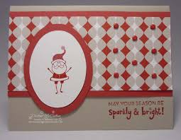 sparkly u0026 bright christmas card anything santa pinterest