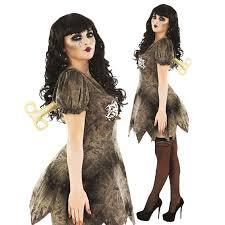 creepy doll costume womens creepy wind up doll steunk fancy dress costume