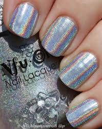 best holo ever nfu oh 61 can take on minx hologram nails all