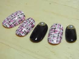 tweed nail art ツィードネイルアート youtube tokyo nail expo day 2