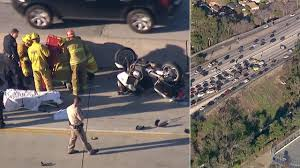 chp motorcycle officer injured in crash on 170 north in north chp motorcycle officer injured in crash on 170 north in north hollywood