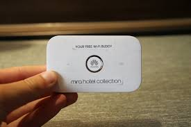 a hotel that offers all guests a portable wi fi device one mile