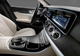mercedes interior 2017 mercedes e class interior raises the bar slashgear