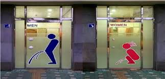 Mens And Womens Bathroom Signs Bathroom Signs Fascinating Signs