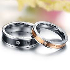 promise ring for men stainless steel promise rings fashion the only