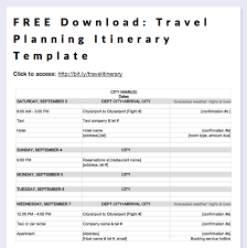 travel itinerary images Free download travel planning itinerary template printables png