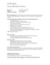 Activities Coordinator Resume Sle Coordinator Resume 28 Images Sales Coordinator Resume