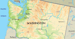 Washington State Map With Cities by Washington State Thinglink
