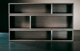 contemporary bookcase wooden joly meridiani
