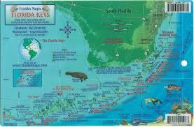 Florida City Map Florida Keys Dive Map U0026 Reef Creatures Guide Franko Maps Laminated