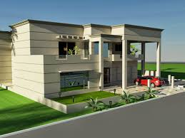 Architectural Design Of 1 Kanal House 3d Front Elevation Com 1 Kanal House Of Design Fornt Elevaiton