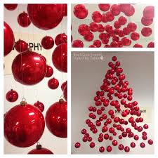 Commercial Christmas Decorations For Shops by Suspended Christmas Tree Decoration For Hair Salon Shop Window