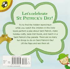 hooray for st patrick u0027s day lift the flap puffin joan holub