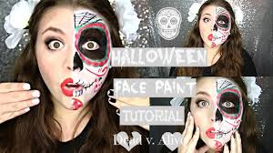 half mask halloween costume fast easy last minute halloween costume half dead half alive