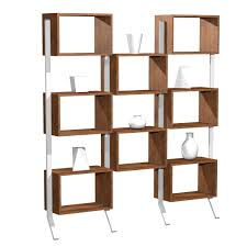 bookcase vertical bookshelf dwr sapien modern bookshelves for